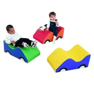 Infant Toddler Soft Cars (set of 3)