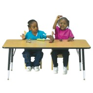 "24"" x 48"" Activity Table, 24""-31""H"
