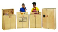School Age 4-Piece Kitchen Set (set of 4)