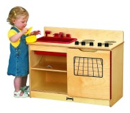 "Jonti-Craft® 2-in-1 Kinder-Kitchen, 30""x15""x23-1/2"""