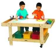 "Creative Caddie Light Table w/bins - 42"" Long"