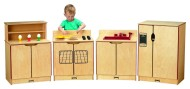 Kinder-Kitchen Toddler 4-Piece Set (set of 4)