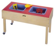 Two-Tub Sensory Table