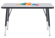 "24"" x 48"" Rectangle Activity Table, 15-24""H"