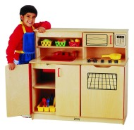 "4-in-1 Kitchen Activity Center, 36-1/2""x15""x35"""