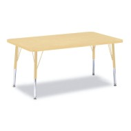 "Rectangle Table, 30""x36"" Toddler Legs"