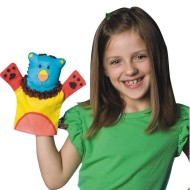 Color-Me™ Fabric Animal Hand Puppets  (makes 24)
