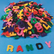 Felt Adhesive Letters (pack of 500)