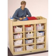 12-Tub Changing Table w/Pad