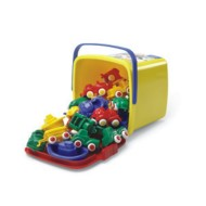 "2-3/4"" Classic Chubbie Plastic Vehicles (bucket of 30)"
