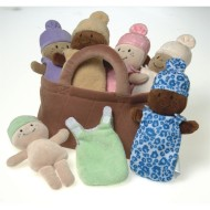 Basket of Babies (set of 6)