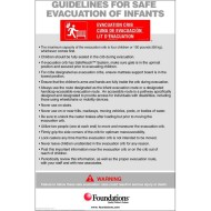 Foundations® First Responder™ Evacuation Protocol Signs