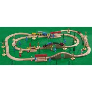 Marvel Magnetic Wooden Train Set