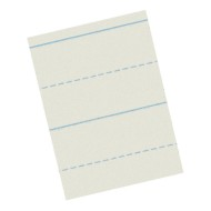 "Newsprint Practice Paper, 8-1/2""x11"", Ruled 1""x1/2"" (pack of 500)"