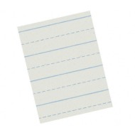 "Ruled Composition Paper, 8-1/2""x11"", Ruled 1/2""x1/4"" (pack of 500)"