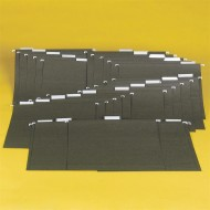 Hanging File Folders 1/5 Cut (Box/25) (box of 25)