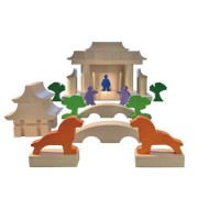 Haba® Japanese House Building Blocks