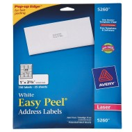 Easy-Peel Address Labels