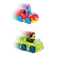 Press and Zoom Activity Vehicles (set of 2)