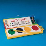 Sargent Art® Art Time Big Ones Washable Watercolor Paint Set