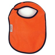 Fleece Bibs, Orange (pack of 4)