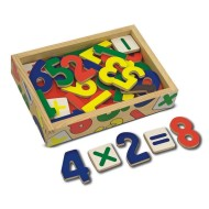 Melissa & Doug® Magnetic Wooden Numbers in a Box
