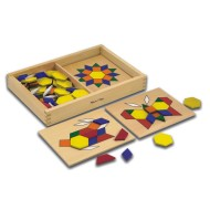 Melissa & Doug® Pattern Blocks and Boards
