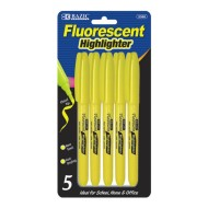 Yellow Highlighter (pack of 5)
