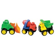 Little Tuffies Truck Set (set of 3)