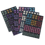 Adhesive Gems and Diamonds (pack of 720)