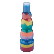 Tall Bubble Sand Art Bottle  (pack of 6)