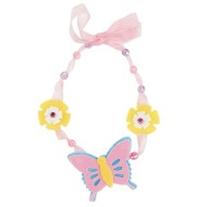 Felt Butterfly Necklace Craft Kit (makes 12)