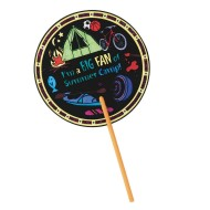 Summer Fun Fan Craft Kit (pack of 48)