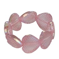 Heart Bead Bracelet Craft Kit (makes 12)