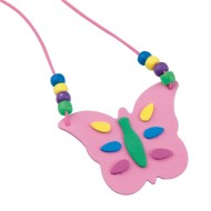 Butterfly Necklace Craft Kit (makes 12)