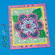 Sequin Flowers Craft Kit (makes 12)