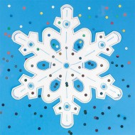 Snowflake Craft Kit (makes 12)
