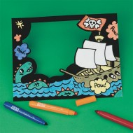 Velvet Pirate Frame Craft Kit (makes 12)