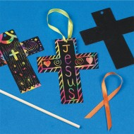 Scratch Cross Craft Kit (makes 24)