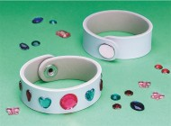 Gemstone Bracelets Craft Kit (makes 12)