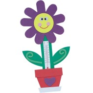 Flower Thermometer Magnet Craft Kit (makes 12)