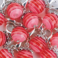 Red Lobster Claw Beads 1/4""