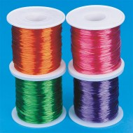 Extendable Neon Jewelry Cord 100m spool