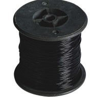 Black Stretchy Jewelry Cord, 100m (328 ft) spool