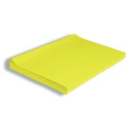 "Kolorfast Non-Bleeding Craft Tissue Paper 2""x30"", Yellow (pack of 480)"