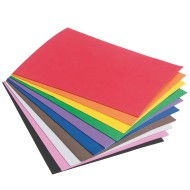 "Sticky Back Foam Sheets Assorted Colors, 9""x12"" (pack of 10)"