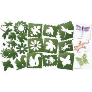 Nature Stencils  (set of 10)