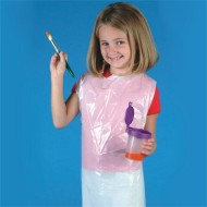 Disposable Plastic Aprons  (pack of 100)
