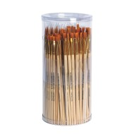 Dynasty® Taklon Paint Brush Set  (pack of 144)
