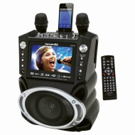 Portable DVD/CDG/MP3G Karaoke Player with Bluetooth